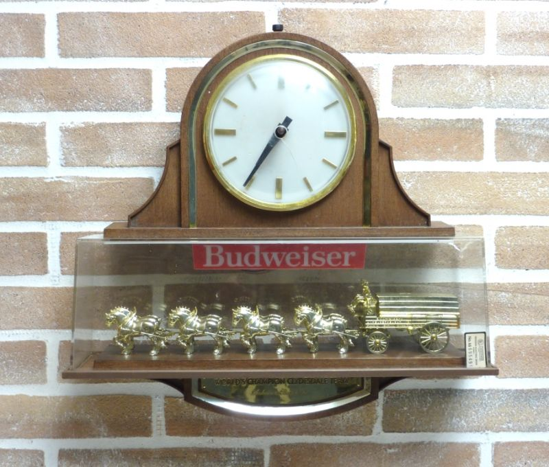 SIGN BEER BUDWEISER HORSES