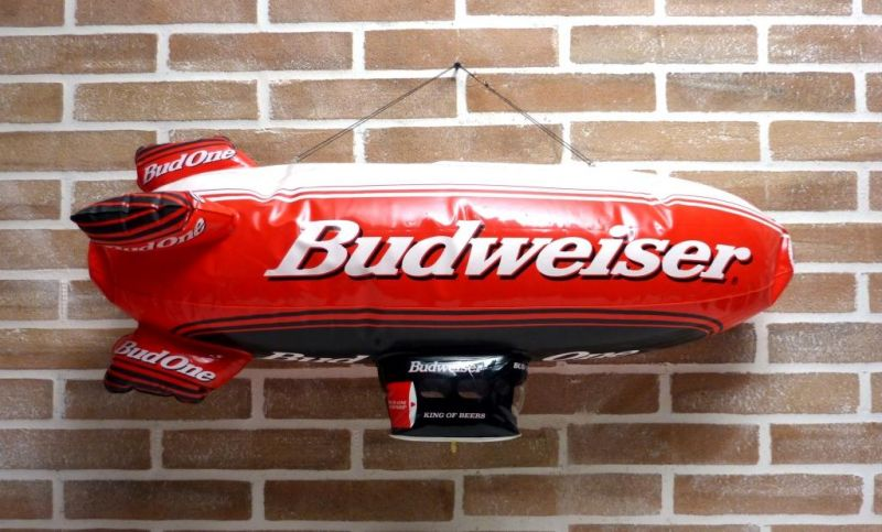 SIGN BEER BUDWEISER BALLOON