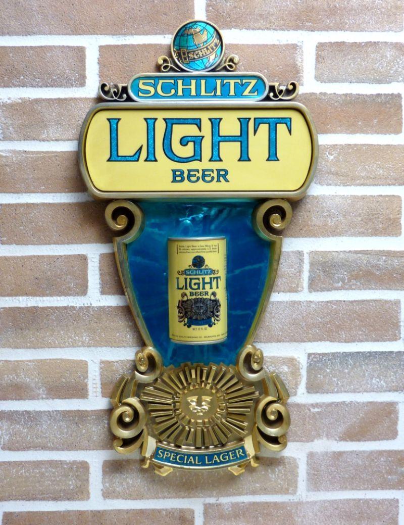 BEER SCHLITZ LIGHT