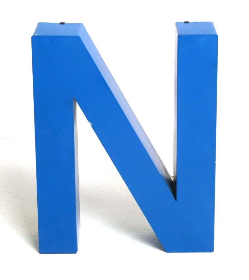 LETTERA  (N) METAL