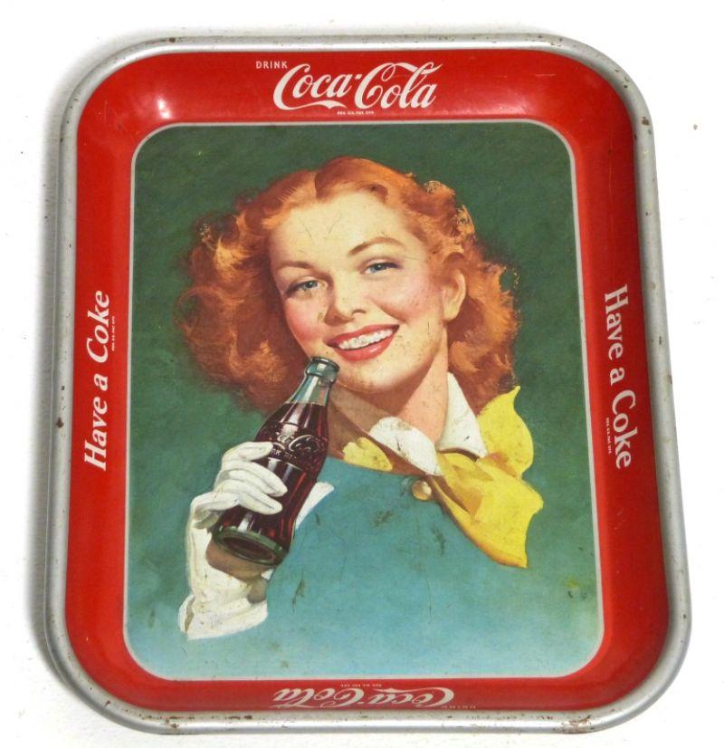 COCA COLA TRAY  ( 1950 )