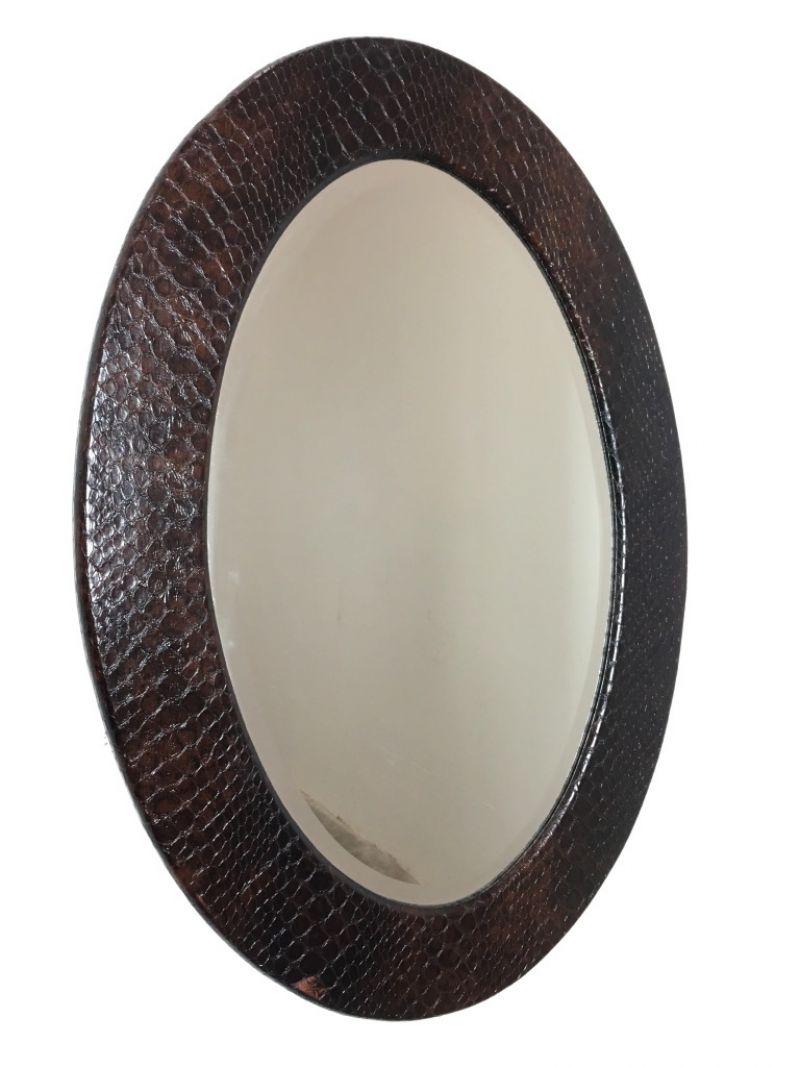 Specchio Ovale Anni 60 -Made in Italy-