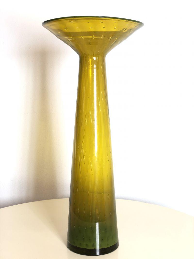 Vaso in Vetro di Murano Vintage Anni 60 - Made in Italy -