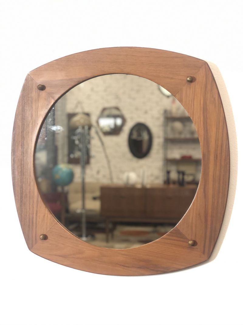 Specchio Vintage  Anni 60 - Made in Italy -